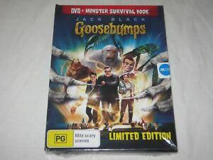 Goosebumps + Monster Survival Book - Brand New & Sealed - Region 4 - DVD