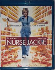 Nurse Jackie: Season Four 4 Blu-ray Disc DVD 2012, 2-Disc Set NEW Sealed