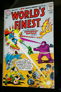 World's Finest #134 untouched VF ..will be PRESSED