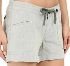 the north face women shorts wander free green casual size 8 - 59$