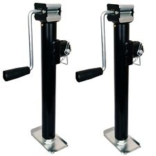2x Trailer Jack Stand Canopy Caravan 2000lb/907kg load Heavy Duty 1060mm Stands