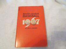 Major League Baseball by Jack Zanger 1967