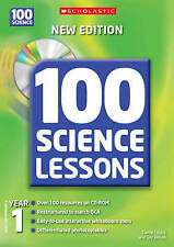 100 Science Lessons for Year 1 with CD-Rom, Wilson, Gay, Creary, Carole, Very Go