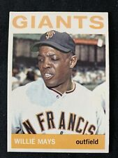 New listing 1964 Topps Willie Mays #150 Card HOF Ex-Mint Centered and Sharp