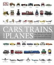 Cars, Trains and Planes by DK (Hardback, 2016)