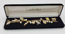 Danbury Mint Sea Charm Bracelet With Box Great Valentine's Day Gift