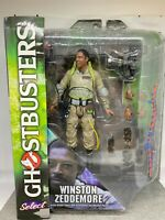 Ghostbusters WINSTON ZEDDEMORE Were Back Figure Diamond Select Toys 2016 NIB