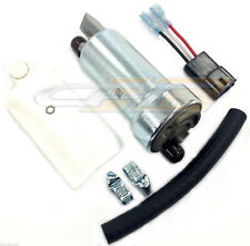 WALBRO F90000262 400LPH UNIVERSAL RACING IN TANK FUEL PUMP W/ INSTALLATION KIT