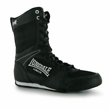 Lonsdale Contender Mid Cut Boxing Boots Lace Up Kids Juniors