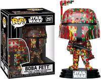 BOBA FETT FUTURA STAR WARS FUNKO POP VINYL NEW in BOX + Protector