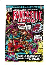 "FANTASTIC FOUR #152  [1974 GD]  ""WORLD OF MADNESS--WORLD OF DOOM!"""