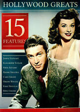 Hollywood Greats: 15 Features (DVD, 2014, 2-Disc Set)