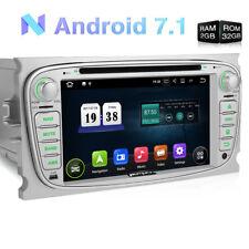 2DIN ANDROID 7.1 DVD GPS NAVIGATION AUTORADIO OBD SD für FORD FOCUS MONDEO S-MAX