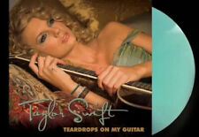 """Taylor Swift Teardrops On My Guitar 7"""" sea glass vinyl Limited To 4000 Numbered"""