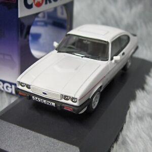 NEW Vanguards 1:43 Ford Capri Mk1 2.8i Diamond White VA10819