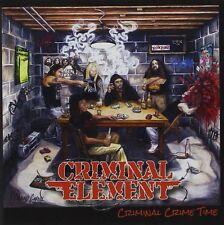 CRIMINAL ELEMENT-CRIMINAL CRIME TIME-CD-deatrh-grindcore-suffocation-dying fetus