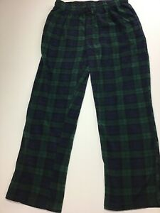 Stafford Reg Fit Sleep Lounge Pants *4XL* Green Plaid Critters Extremely Soft