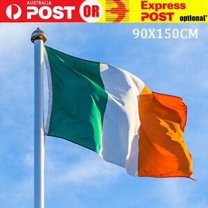 150x90cm Large Ireland Flag Irish National Olympics Sport Rugby St Patrick's Day