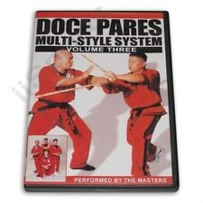 Doce Pares #3 Multi style Filipino Eskrima Escrima Kali Arnis Dvd knife sticks