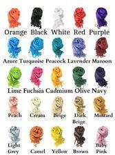 Sciarpe, foulard e scialli da donna pashmina tinta unita