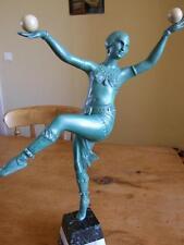 Art Deco Female Ball Dancer, Balleste.