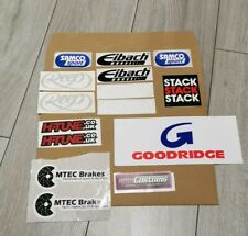 Mixed batch of car Stickers