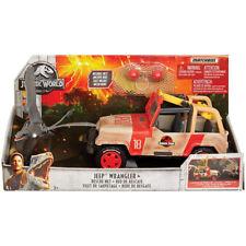 Matchbox Jurassic World Jeep Wrangler + Rescue Net NEW