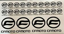 Cfmoto Sticker Vinyl Decal Packs 2 Sizes Pick your color Fast Tracked Shipping!