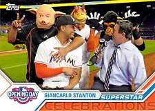 2017 Topps Opening Day Superstar Celebrations #SC-21 Giancarlo Stanton Marlins