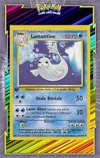 🌈Lamantine - Set de Base Edition 1 - 25/102 - Carte Pokemon Neuve Française