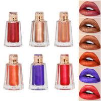 Metallic Liquid Lippenstift Shimmer Glitter Lippen Moisturizing Lip Gloss Makeup