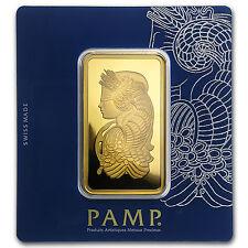 100 gram Gold Bar - PAMP Suisse Lady Fortuna Veriscan® (In Assay) - SKU #88805