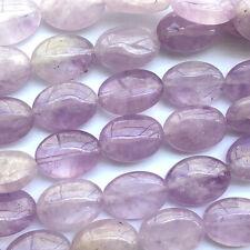 Amethyst Purple 14x10mm Oval Semi Precious Stone Beads Q14 Beads per Pkg