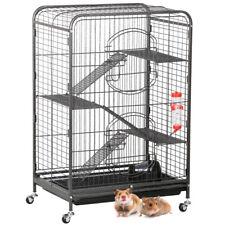 "37"" Animal Habitat Cage w/2 Front Doors Ferret Chinchilla Small Animals House"