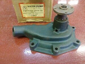 1933 1934 1935 1936 PONTIAC 6 & 8 CYL WATER PUMP INTERNATIONAL P/N C547 - NORS