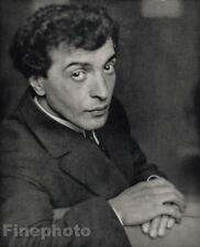 1916/66 Vintage 11x14 BENNO MOISEIWITSCH Piano Music Photo ALVIN LANGDON COBURN