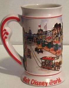 Walt Disney World Magic Castle Main Street Magic Kingdom 3D Embossed Stein Mug