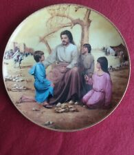 The Blessing of the Children, Lou Marchetti 1991 Porcelain. Vgc. Reduced