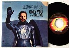 Ringo STARR Beatles SP 45T vinyle année 1974 Only You