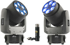 Chauvet Intimidator Trio LED Moving Head faisceau lavage effet 6-LED RGBW paquet