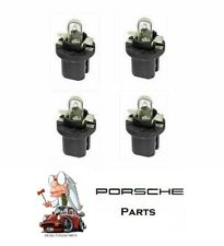 Porsche 924 944 928 968 Instrument Dash Bulb 12V/1.2W (Black Base) Set of 4 NEW