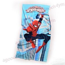 1pc Spiderman Unisex Bath Shower Face Towel 75x 150cm Soft Cotton Beach Towel