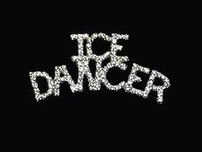 Elegant Swarovski Crystal Ice Dancer Skating Lapel Pin - Sparkling - Gift Boxed