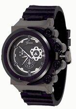 New Black Oversized Luxury Mens Geneva Silicone Designer Watch