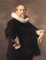 Huge Oil painting Frans Hals - Portrait of a Man Bearded man canvas handpainted