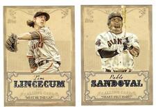 2013 Topps Series 1 Calling Card Pablo Sandoval San Francisco Giants CC-14