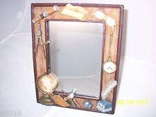 "Table or Desk Mirror Globe, Telescope, Glasses, Pocketwatch 9 - 3/4"" X 7 - 3/4"""