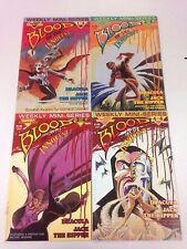 Blood Of The Innocent #1 2 3 4 1986 Dracula Mark Wheatley Marc Hempel Gregory