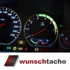 """Tachoscheibe für Tacho BMW E36 Benziner """"Vamp"""" 260Km/h  New"""