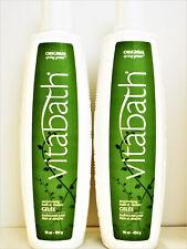 VITABATH Original SPRING GREEN Moisturizing Bath Shower GELEE 16 oz/454 g NEW x2